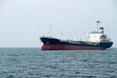 Tankfartygskepp Fotografering för Bildbyråer