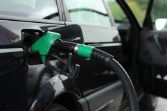 tanking drogi gazowy paliwa Obraz Stock