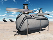 Tanklager Lizenzfreies Stockbild