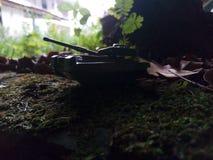 Tankminiaturen royalty-vrije stock fotografie