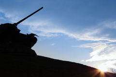 Tankmonument Stock Foto
