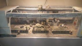 Tankmuseum Royalty-vrije Stock Foto's