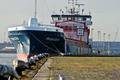 Tankowa Statek Obrazy Stock