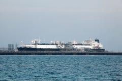 Tankowa statek Zdjęcia Royalty Free