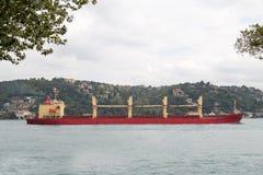 Tankowa statek Fotografia Stock