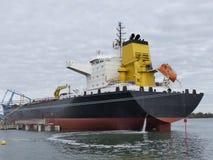 Tankowa statek dokujący Zdjęcie Royalty Free