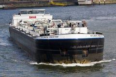 Tankowiec na Maas Obraz Royalty Free