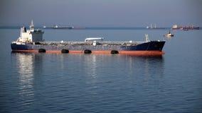 Tankowiec na wysokich morzach Obraz Stock