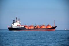Tankowiec na wysokich morzach Zdjęcie Stock