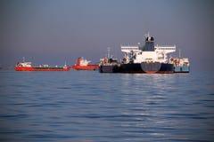 Tankowowie na wysokich morzach Obraz Royalty Free