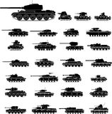 Tanks stock illustration