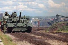 tanks Stock Foto's