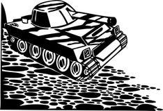 Tanks, armored vehicles - Vector illustration. Tanks, armored vehicles. Vinyl-ready vector design Stock Photos