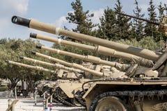 Tanks At Latrun Fortress And Armour Museum Royalty Free Stock Photos