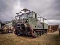Tanks bij de Militaire Musea, Calgary Stock Afbeelding
