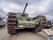 Tanks bij de Militaire Musea, Calgary Stock Foto's