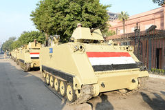 Tanks in Cairo,Egypt Stock Image