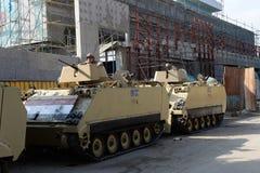 Tanks in Cairo,Egypt Stock Image
