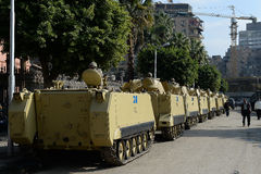 Tanks in Cairo,Egypt Stock Photo