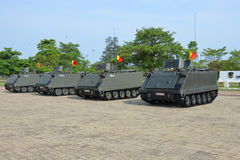 Tanks car of Thai Army Royalty Free Stock Photo