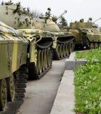 Tanks column Stock Image