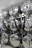 Tanks in microbrewery Royalty Free Stock Images