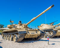 Tanks in museum Stock Photography