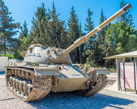 Tanks in museum Royalty Free Stock Photo