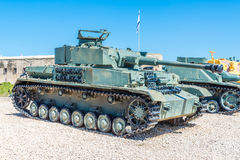 Tanks in museum Royalty Free Stock Photos