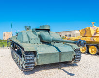 Tanks in museum Royalty Free Stock Images