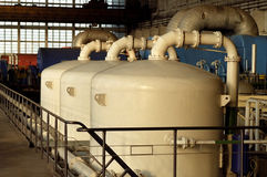 Tanks, reservoirs, chemical Royalty Free Stock Photography