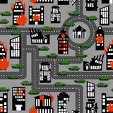 Tanks in seamless pattern. Background of hostilities. Conflict b Royalty Free Stock Image