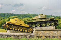 Tanks Royalty Free Stock Image