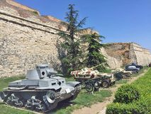 Tanks in Serbia Royalty Free Stock Photos