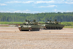 Tanks show Stock Images