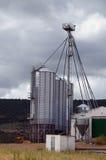 Tanks of silo Royalty Free Stock Image
