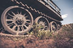 Tanks transmission Royalty Free Stock Images
