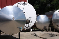 Tanks and vessels Stock Image
