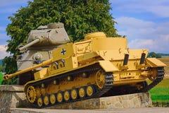 Tankslag royalty-vrije stock afbeelding