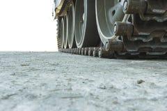 Tanksporen Stock Afbeeldingen