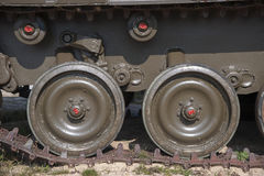 Tanksporen royalty-vrije stock afbeelding