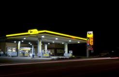 Tankstelle Stockbild