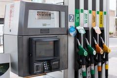 Tankstelle leer Lizenzfreies Stockbild