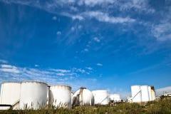 Tankstelleinsel Lizenzfreie Stockfotos