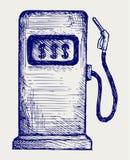 Tankstellepumpe lizenzfreie abbildung