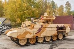 Tanksteun het Vechten Voertuig Royalty-vrije Stock Afbeelding