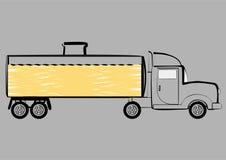 Tankwagen. vector illustratie