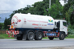 Tankwagen Lamphun Gas Picnic Company Lizenzfreie Stockfotografie