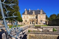 Tanlay Chateau in France Stock Photo