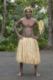 Tanna, la República de Vanuatu, el 12 de julio de 2014, retrato de un indi imagen de archivo libre de regalías